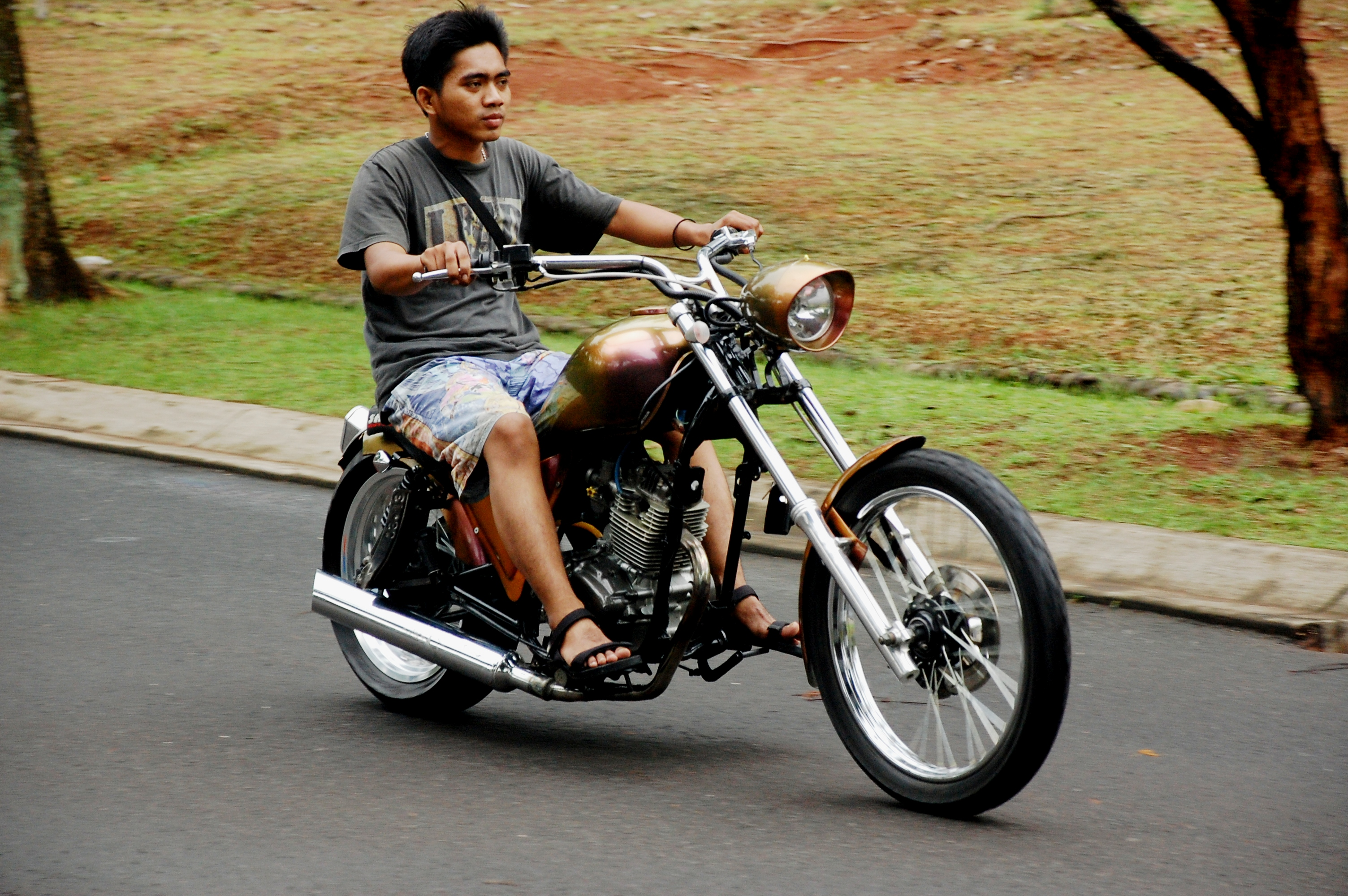 Koleksi Modif Honda Tiger Jadi Harley Terupdate Botol Modifikasi