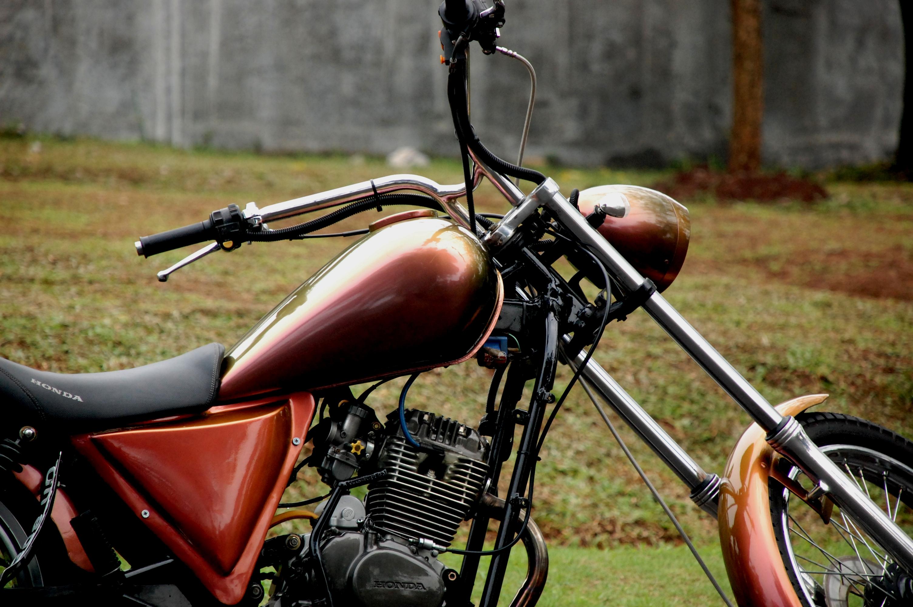 GL 100 Bergaya Chopper Tak Asal Murah Gilamotor