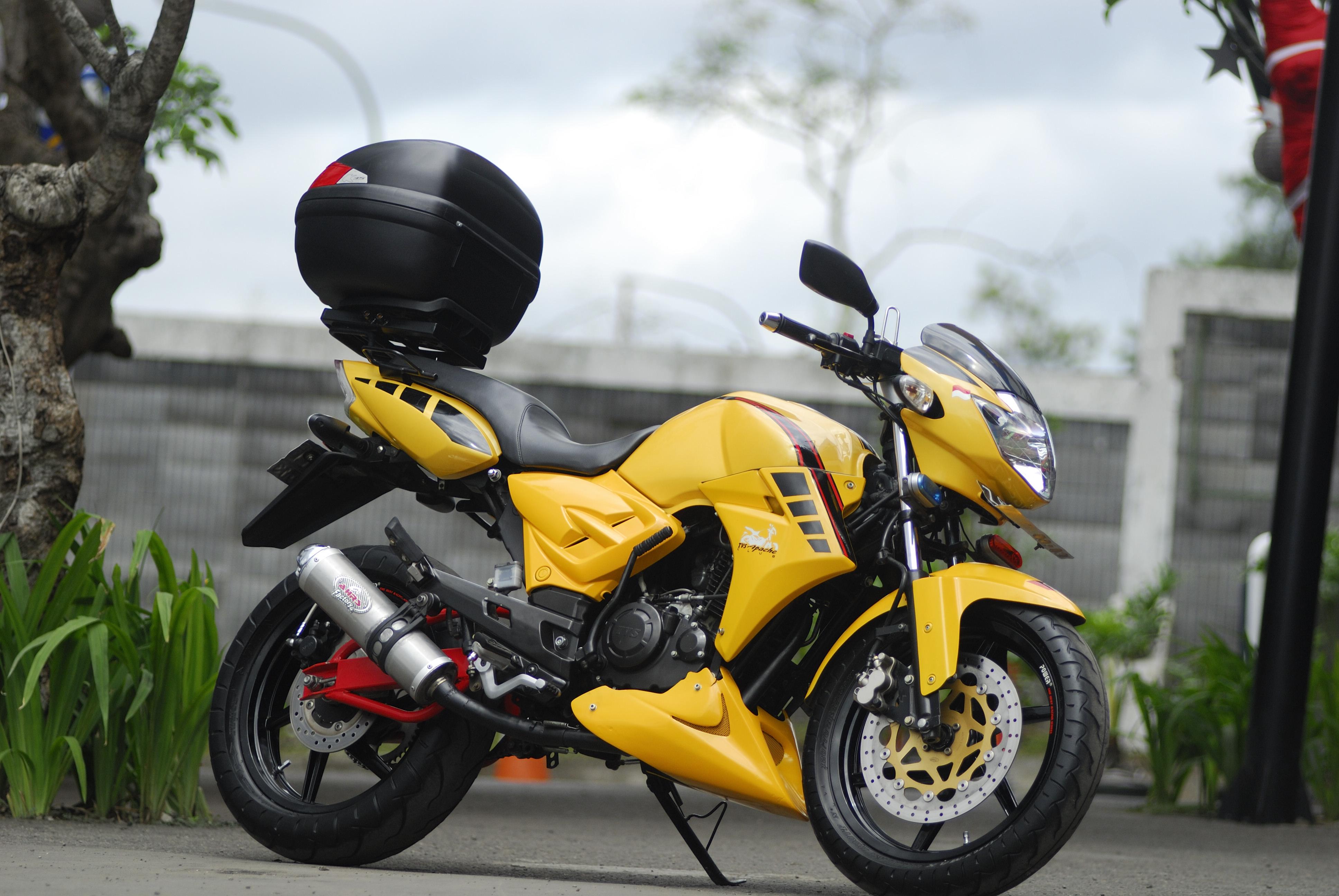Apache Rtr 160 Sport Touring Sang Guru New Moto Trend