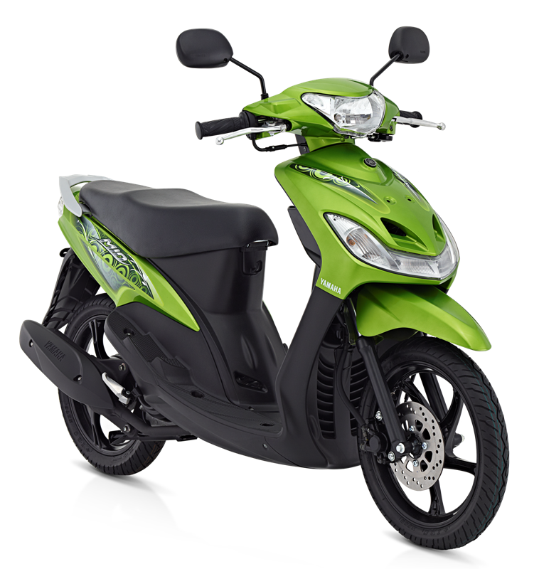 modifikasi motor mio sporty hijau terpopuler