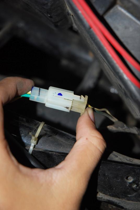 on wiring sdometer supra x 125