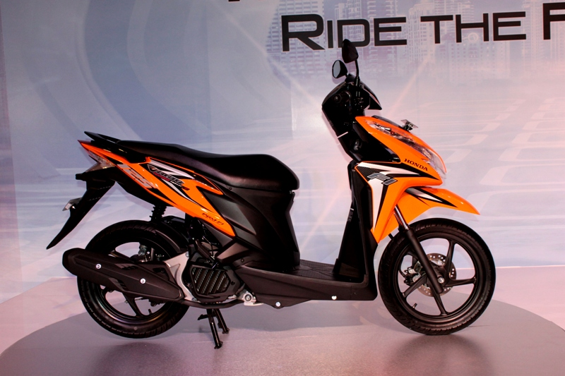 honda vario techno 125 helm in pgm fi review test ride. Black Bedroom Furniture Sets. Home Design Ideas