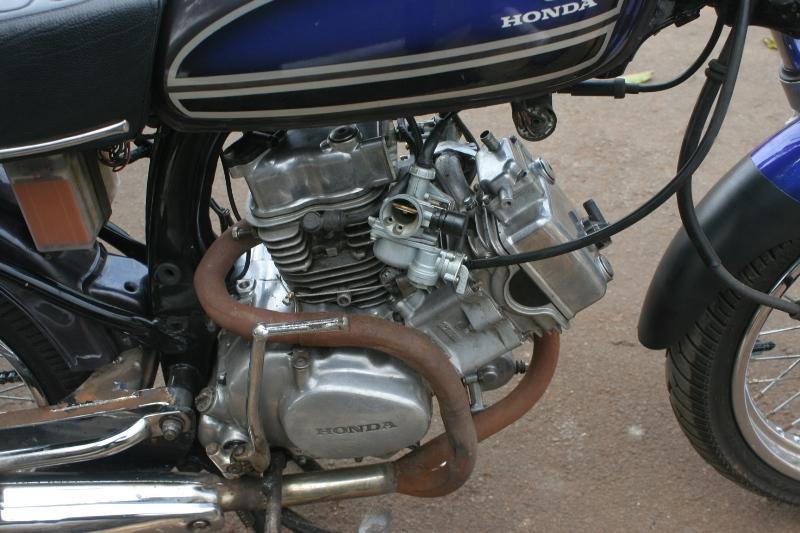 Honda Cg 100 76 Jadi Dua Silinder L Twin Gilamotor