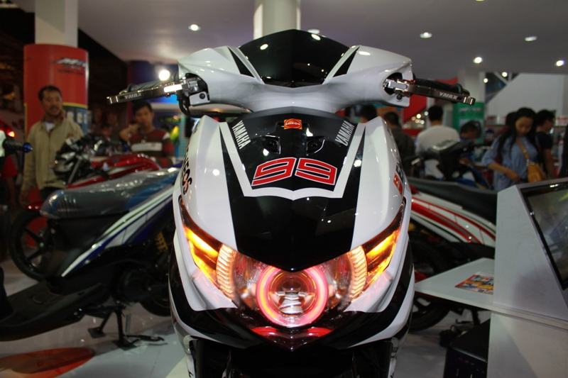 Top aksesoris modifikasi motor mio soul