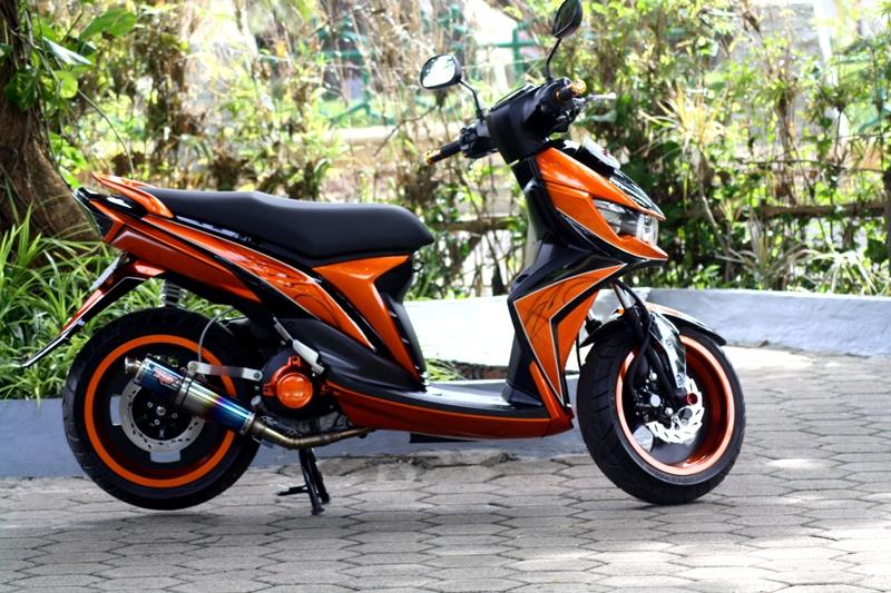 Modif Warna Yamaha Soul Gt via www.gilamotor.com