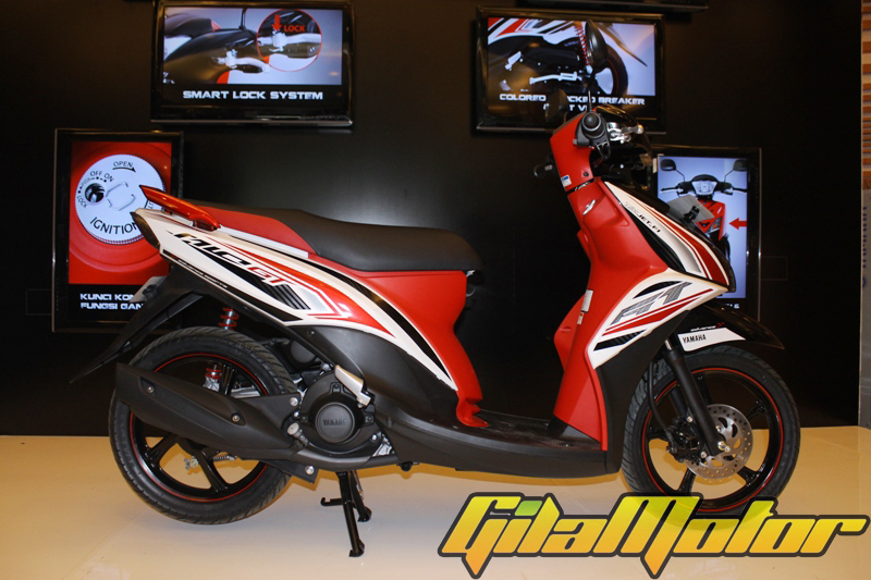 modifikasi new mio gt  paling bagus