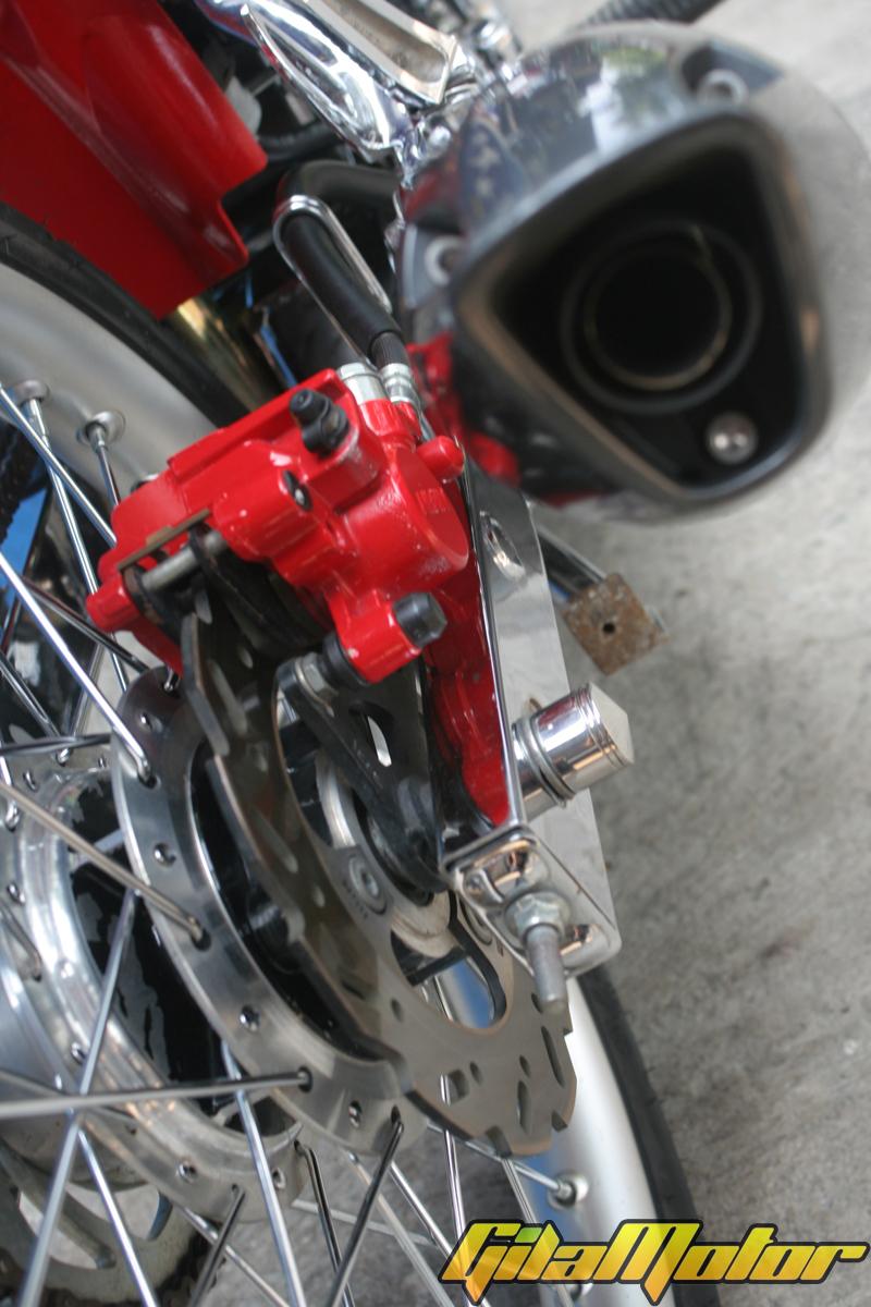 Modif Suzuki Satria FU 2010 American Attack Gilamotor