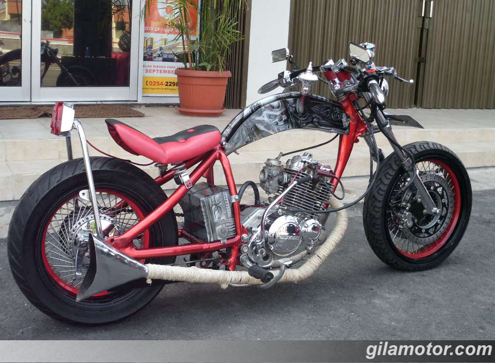 Jokowi Beli Motor Modifikasi Gaya Chopperland - News