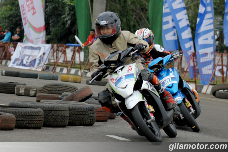 ide modifikasi mio j road race