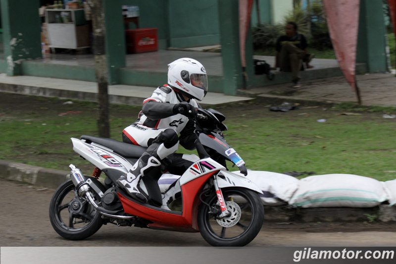 kumpulan modifikasi mio j road race