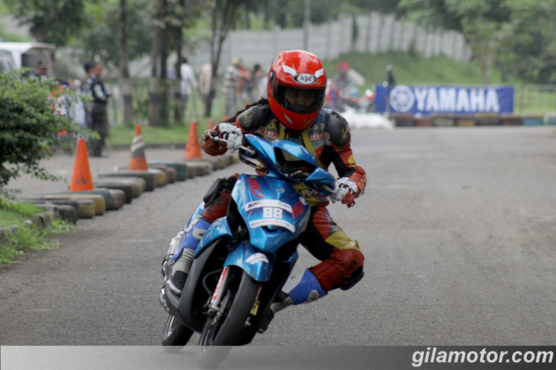 modifikasi mio j road race  paling bagus