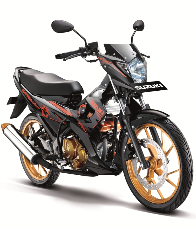 Suzuki New Satria Fighter One, Pakai Alarm dan Aksesoris ...