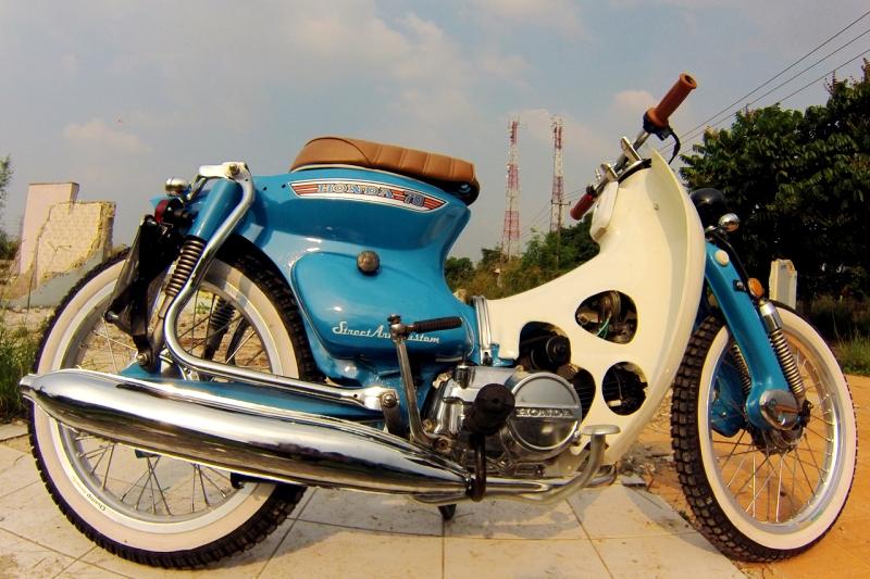 Honda Grand Jadi C70 Street Cup Gilamotor