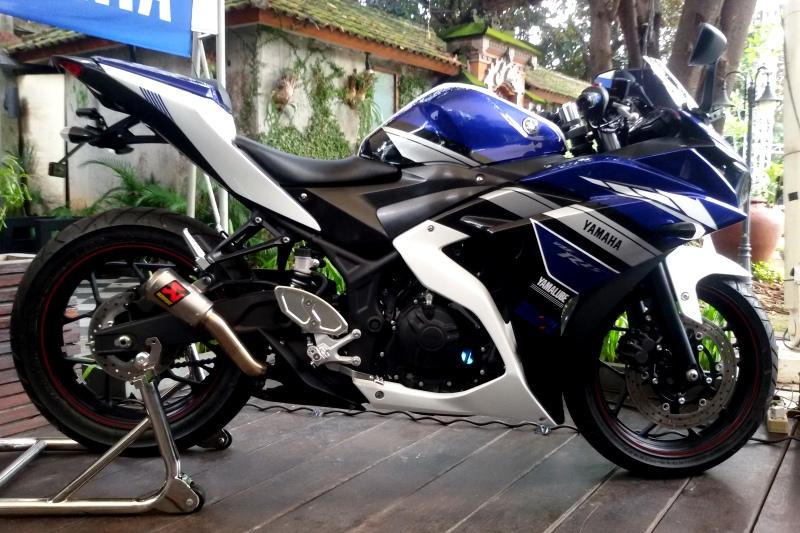 contoh Yamaha R25 Modifikasi Gp