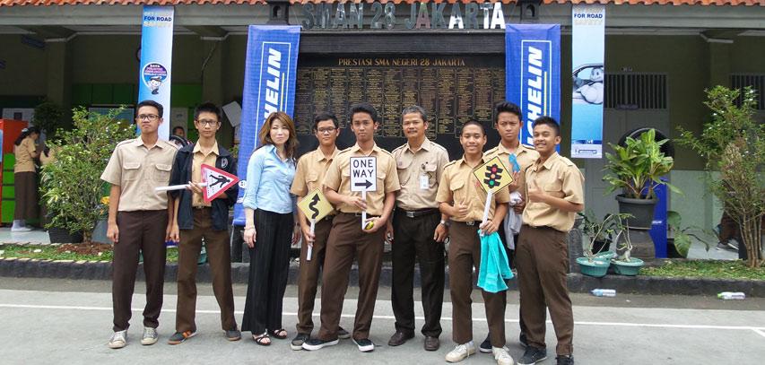 Michelin-Tunjukin-Safetymu-SMAN-28-Jakarta