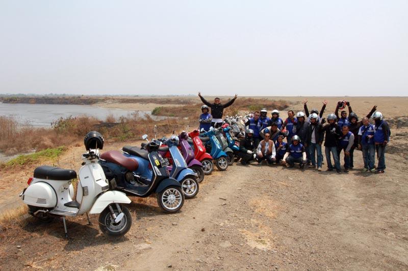 Foto Touring Kutu Vespa Menuju Bromo Gilamotor