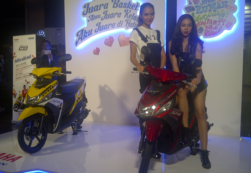 Yamaha Mio M3 125 1