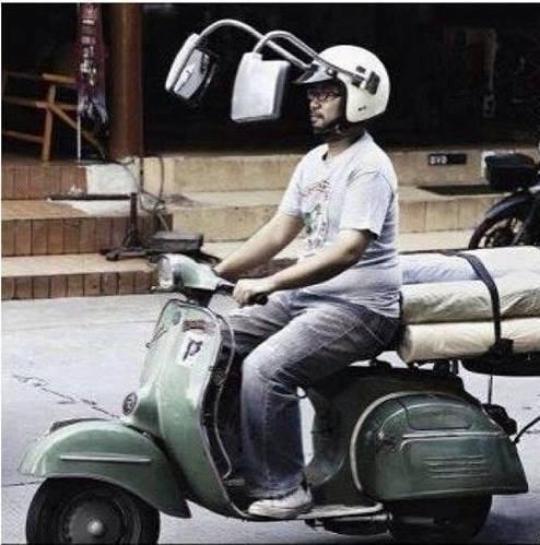 Foto gila adalah foto atau gambar lucu dan tingkah aneh pengendara motor