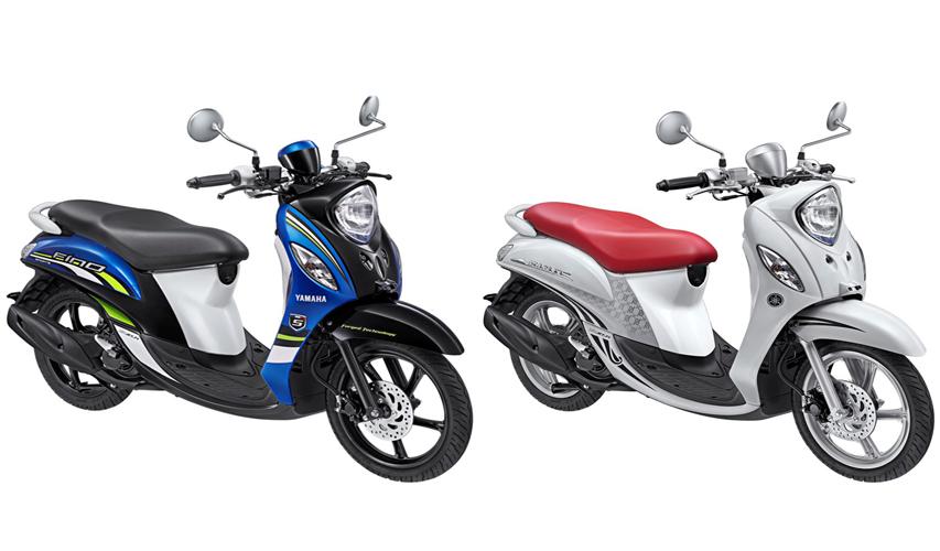 Yamaha Fino FI 2015 hadir dengan pilihan warna baru yang lebih menggoda.
