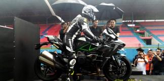 PT. Kawasaki Motor Indonesia resmi meluncurkan Ninja H2 di Indonesia