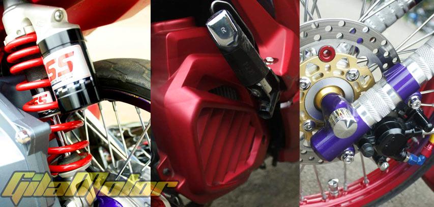 Honda Vario 125 Tahun 2013, Simbol Cinta Modifikasi