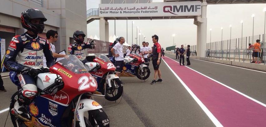 Kualifikasi ATC Qatar, Andi Gilang Start Posisi Tiga! - Gilamotor