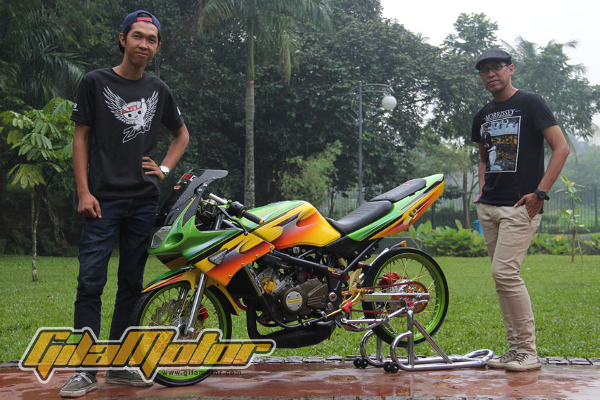 Modifikasi-Thai-Look-Kawasaki-Ninja-150RR-1