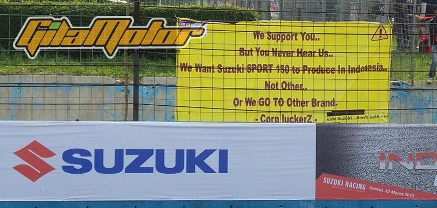 Suzuki spanduk