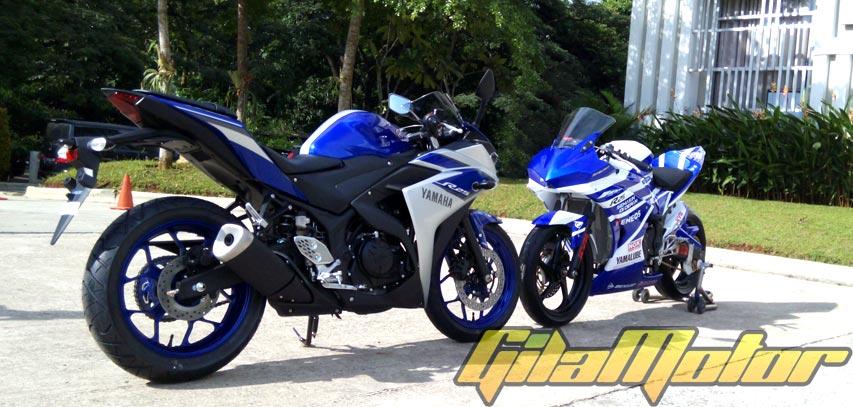 Yamaha R25 Modifikasi Balap  tahun ini