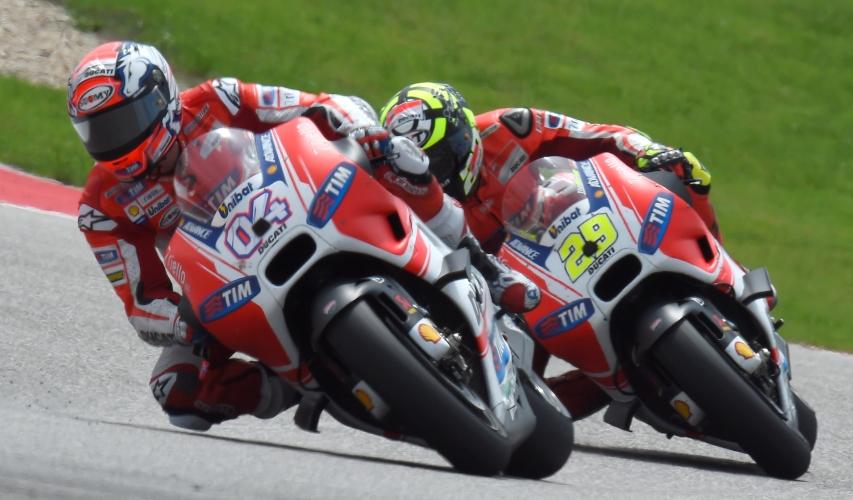 Tim Ducati percaya diri hadapi MotoGP 2015 seri Argentina, Desmosedici GP15 kompetitif