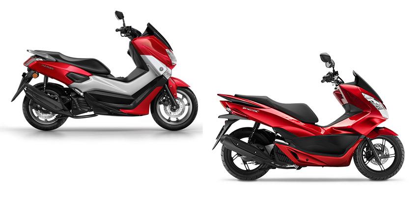 Yamaha-NMax-125-vs-Honda-PCX-125