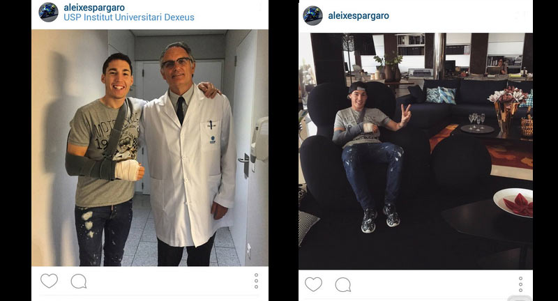 Photo: Instagram/ Aleix Espargaro