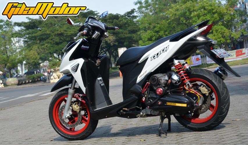 modifikasi motor honda vario 125  paling bagus