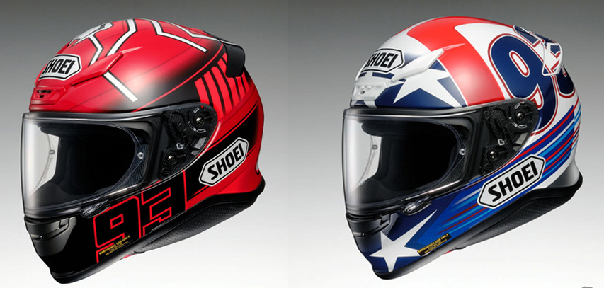 shoei z 7 berdesain helm marquez di motogp harga rp 6. Black Bedroom Furniture Sets. Home Design Ideas