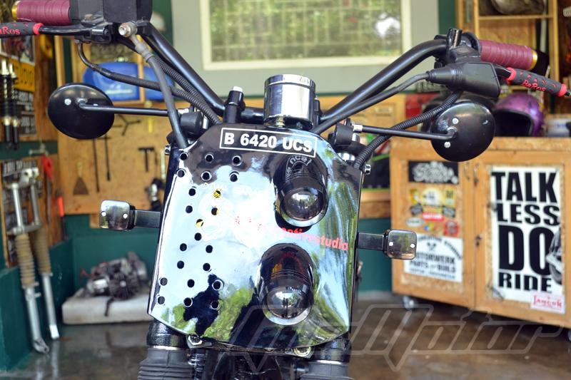 Modifikasi Yamaha Scorpio 4 wtrmrk