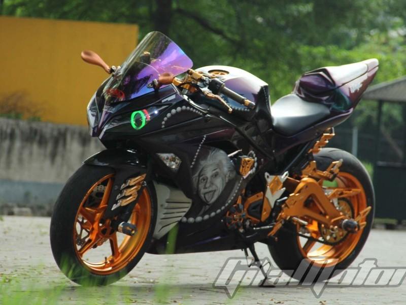 Modifikasi Kawasaki Ninja 250 2014 Pelet Toko Aksesoris Gilamotor