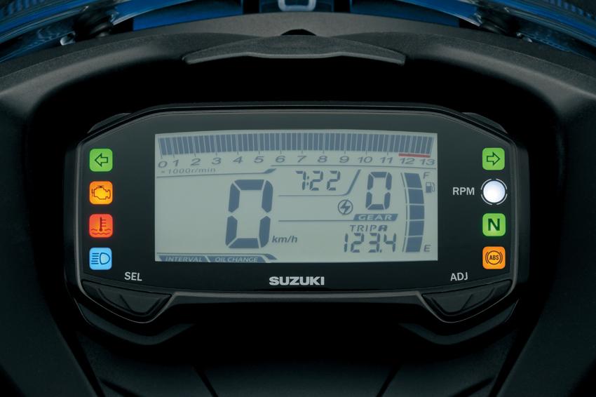 GSX-R150 LCD Speedometer