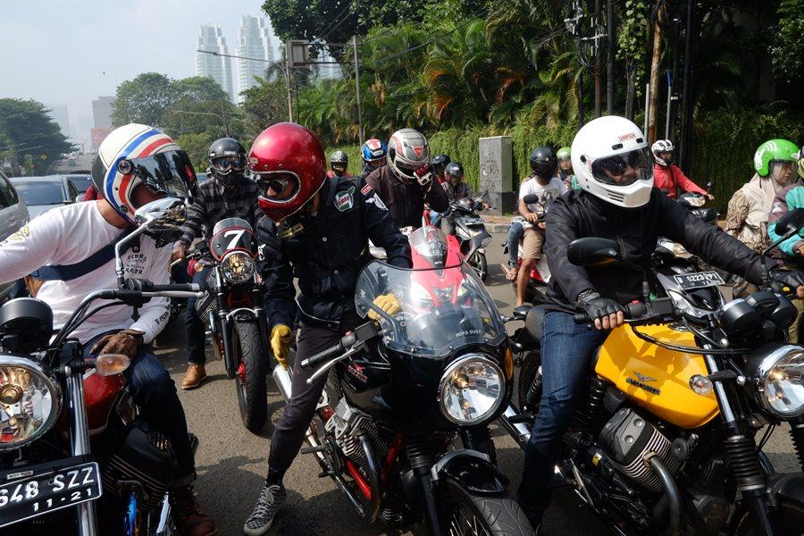 Day of The Greats II Jadi Ajang Eksis Pemilik Moto Guzzi 01