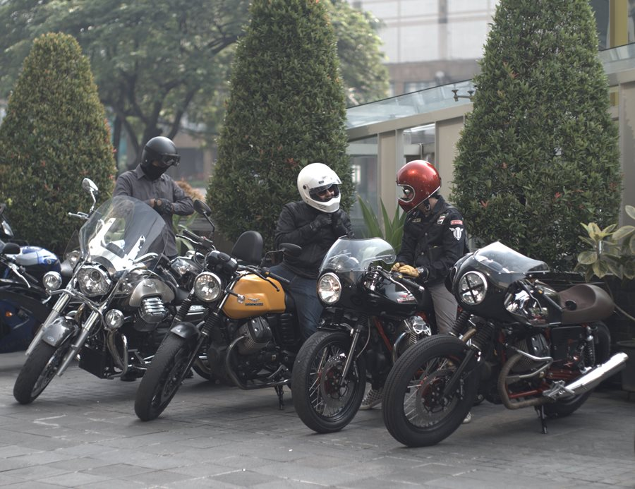 Day of The Greats II Jadi Ajang Eksis Pemilik Moto Guzzi 02