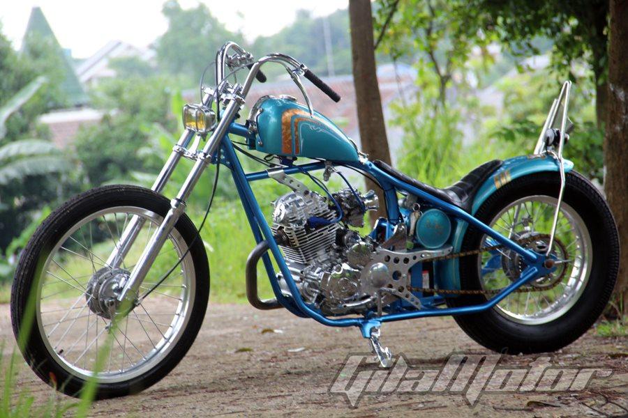 Modifikasi Yamaha Scorpio 2008: Cinta Bersemi di Bengkel Kustom