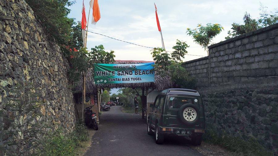 Touring Menyambangi Pantai Pasir Putih Bias Tugel