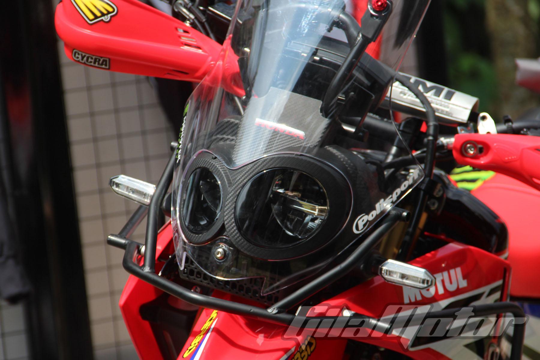 DAM Lansir Daftar Harga Obat Ganteng Honda CRF250 Rally Gilamotor