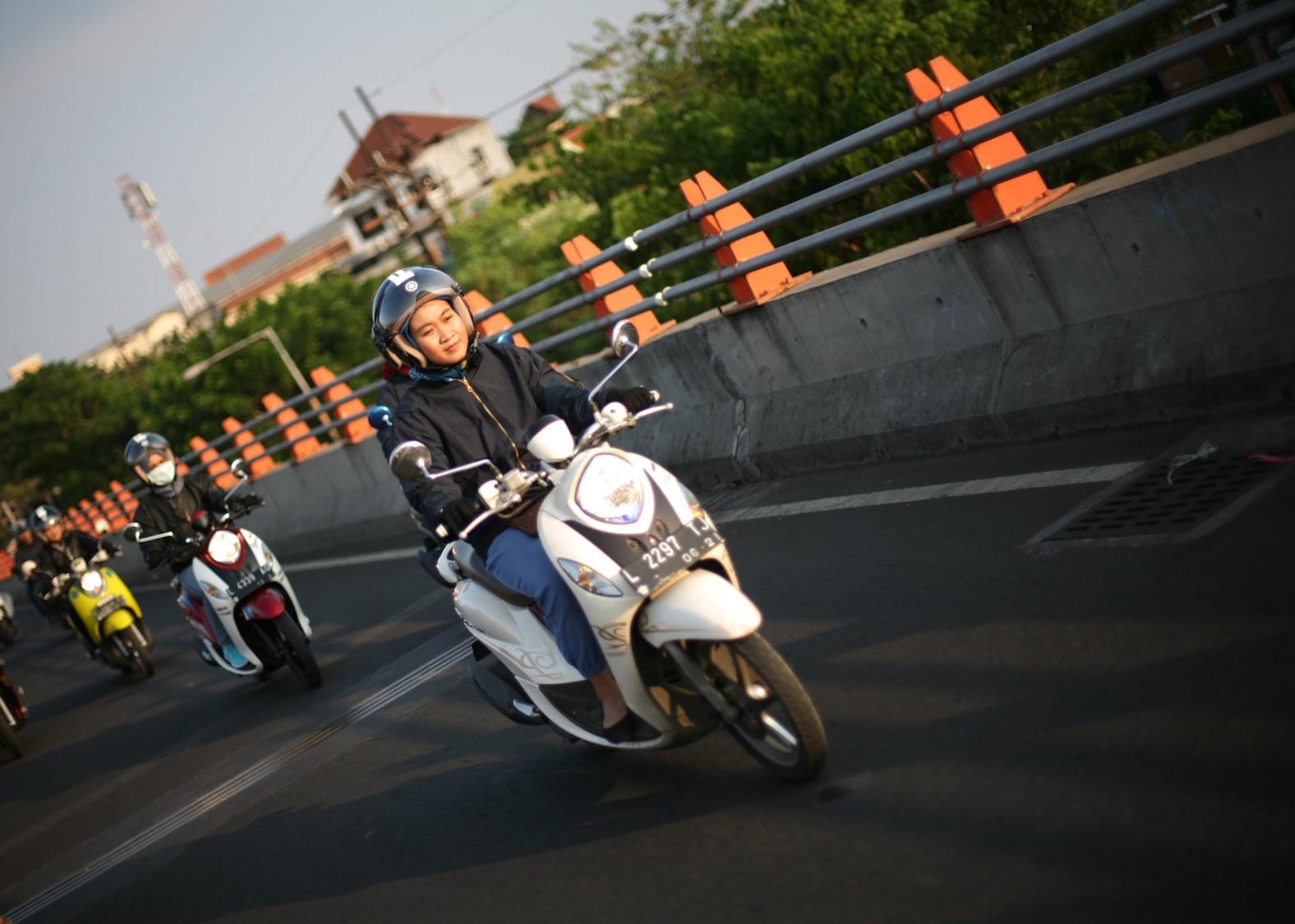 Manjakan Konsumen Fino 125 Di Surabaya, Yamaha Gelar Event
