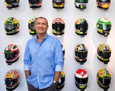 Aldo Drudi, Sosok di Balik Desain Ciamik Helm AGV Rossi. Foto: Rossihelmets.com