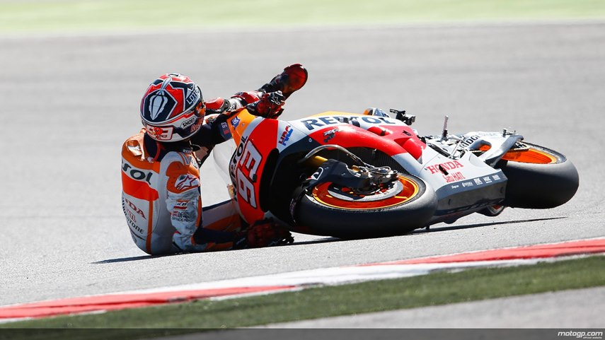 Istilah MotoGP - Low Side