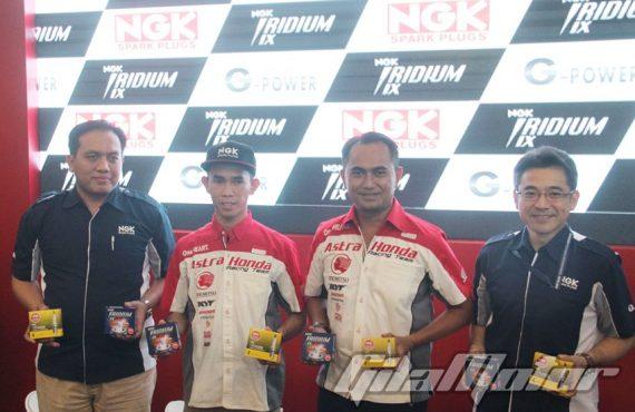 Kelebihan Busi Balap NGK Racing Competition