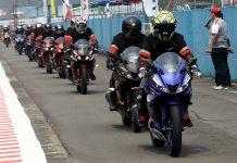 Lady Biker Jajal All New R15 di Sentul