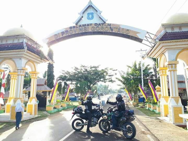 Supermoto Indonesia Touring Jelajahi Sulawesi (1)