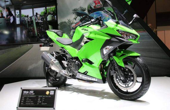 Spesifikasi Kawasaki Ninja 250 2018
