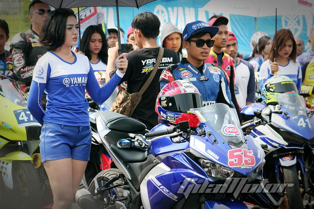 Galang Hendra Pimpin Victory Lap Yamaha Sunday Race 2017 Seri 4